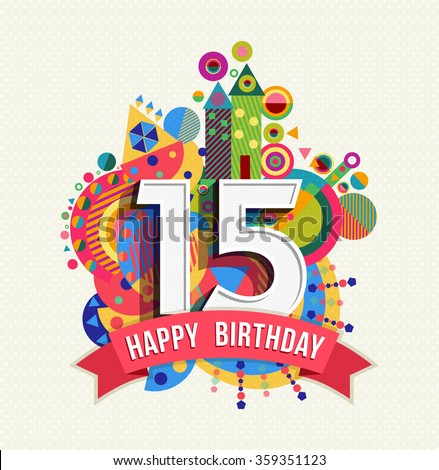 Happy Birthday Number 22 Greeting Card Vector 539048866 – Birthday Cards for 18 Year Olds