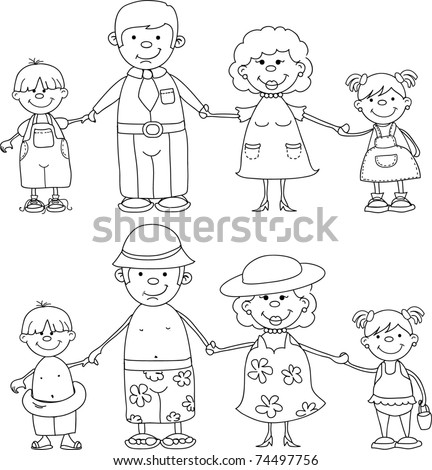 friends holding hands coloring pages - photo#9