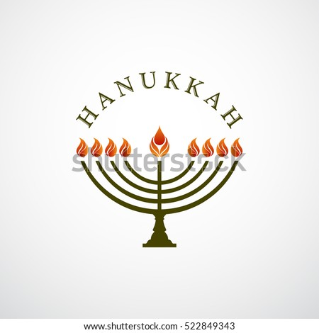 Happy Hanukkah design