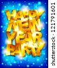 Happy new year party - stock vector