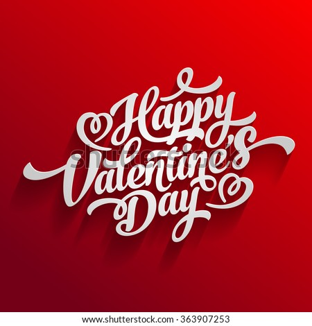 Happy Valentines Day Card Love You Stock Vector 173125736 Shutterstock