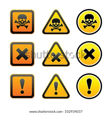Warning Hazard Signs from Safety Sign Supplies