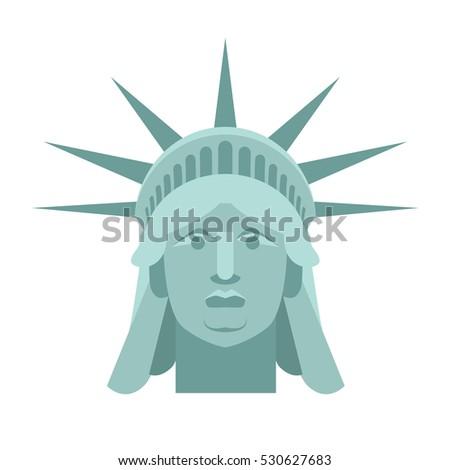 statue of liberty face vector wwwpixsharkcom images