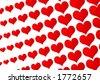 Heart pattern - stock vector