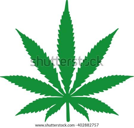 Marijuana Leaf Clipart Stock Illustration 512868832 - Shutterstock