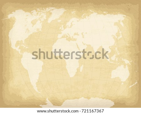 Abstract hand drawn background vintage sailing vectores en stock high detailed world map on old craft paper texture background template for your design works gumiabroncs Images