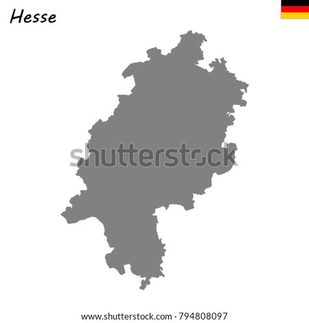High Quality Map Namur Province Belgium Stock Vector 1028782567