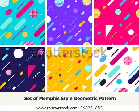 Trendy Colors infographic elements informational data concept analytical stock