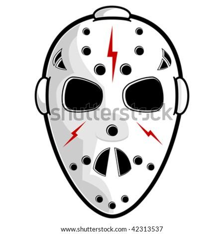 Hockey mask iso...