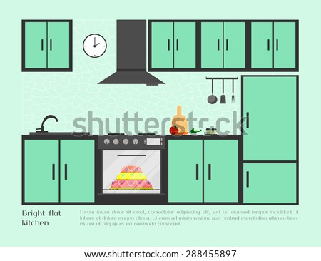 Restaurant Kitchenware vector kitchen stock vector 379188094 - shutterstock