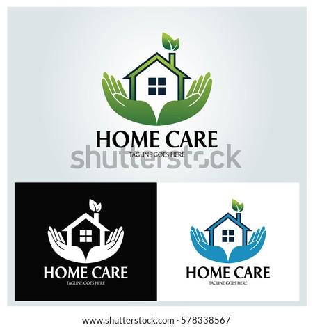 Organic House Logo Design Template Home Stock Vector 498143470 Shutterstock