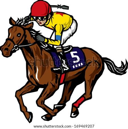 Horse racing track clip art - photo#25