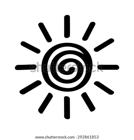 Eye Logo Symbol Cyber Spying Stock Vector 576715852