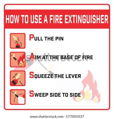Fire extinguisher classification symbols