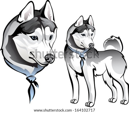 Tribal Horse Head Design Perfect Logo Stock Vector 1680609