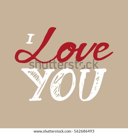 Hand Drawn Happy Valentines Day Cards Stock Vector
