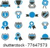 icons, signs, vector illustrations - stock