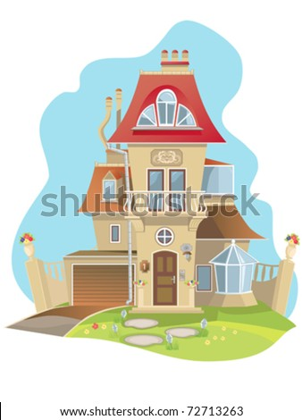 Ideal family detached new beautiful house.