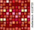 illustrated abstract seamless tile background in different shades of red - stock photo