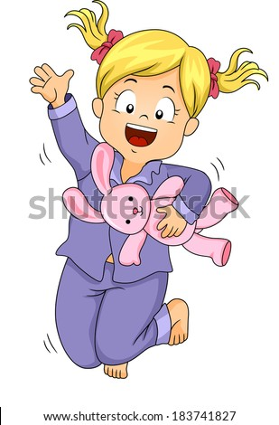 Pajama Kids Vector Stock Vector 24855268 - Shutterstock