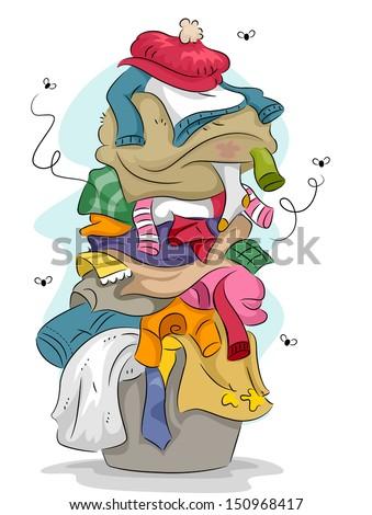 Clothes Sorter Clip Art