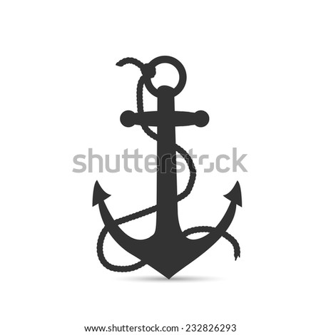Anchor Chain Rope Stock Vector 35372524 - Shutterstock