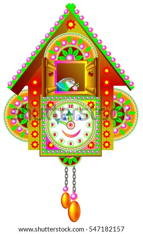 State mexico flag mexico close up stock illustration 334210649 shutterstock - Colorful cuckoo clock ...