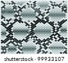 Illustration of gray snake skin-vector - stock vector