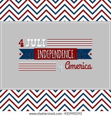 Independence Day 4-th July background.Vector