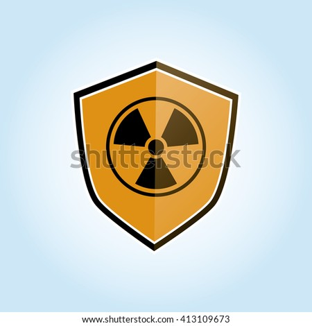 Industrial security design. safety icon. protection concept