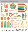 Info graphic set - stock vector