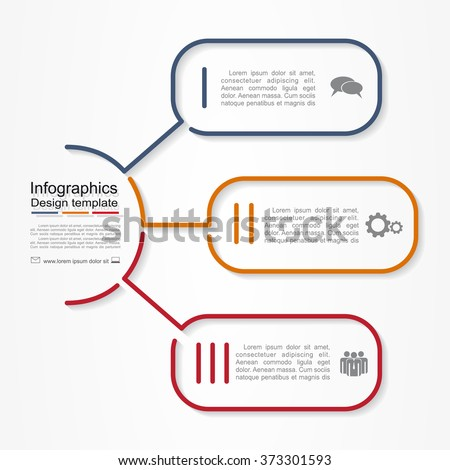 Infographic report template with place for your data. Vector illustration