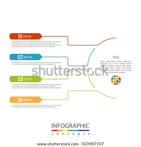 Infographic timeline template can be used for chart, diagram, web design, presentation, advertising, history. Vector infographic illustration concept