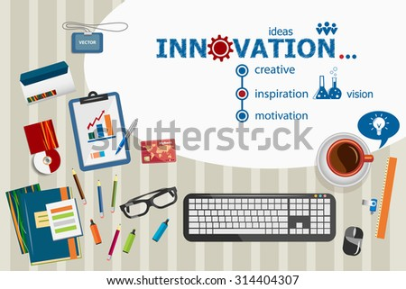 Business meeting flat design illustration concepts stock for Design innovation consultancy