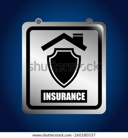insurance concept design, vector illustration eps10 graphic