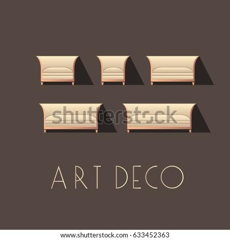 Interior Designer Brand Identity Chair Line Stock Vector 441315073 Shutterstock