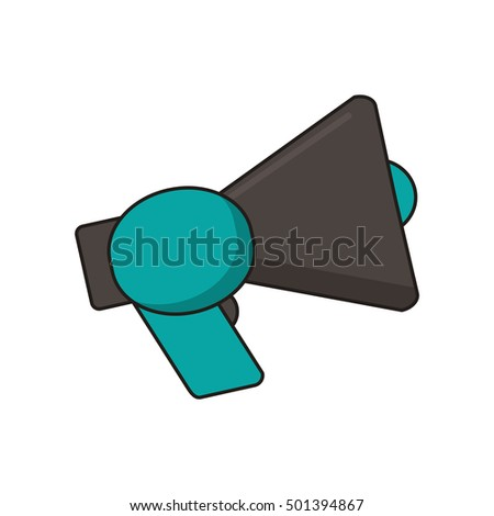 Isolated megaphone device design
