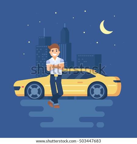 Dreaming Of Driving A Car At Night