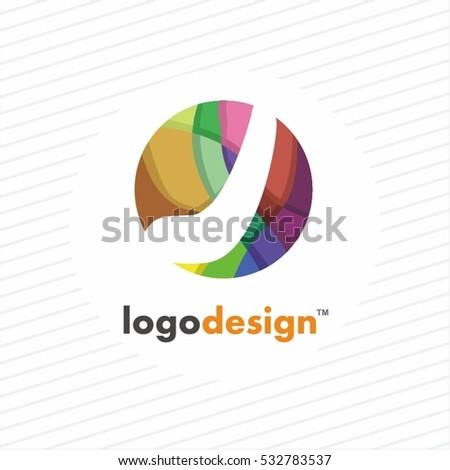 Vector Abstract Colorful Icon Logo Stock Vector 173736413 ...