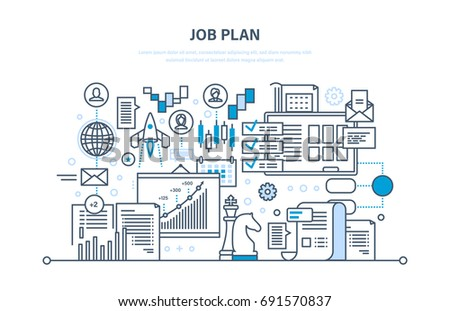 Interior Design And Marketing Backgroudn For Space Planning Job