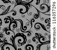 Lace floral background. Seamless pattern for your design wallpapers, pattern fills, web page backgrounds, surface textures. - stock vector