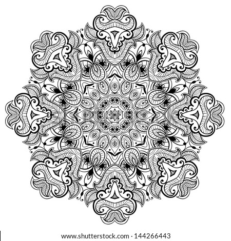 Lacy Arabesque Designs Oriental Ornament You Can Use This Pattern In The Design Of