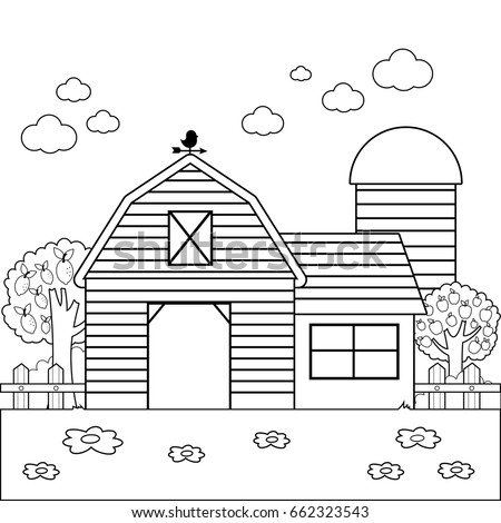 Houses Coloring Pages furthermore Roper Cowboy On A Horse Swinging A Lasso To Catch A Cow Or Horse 14846 likewise Coloring Book House Theme Image 1 99407033 moreover Window grill as well Search. on fence facade