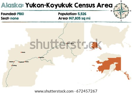 Large Detailed Map Infographic Nome Census Stock Vector 484117657