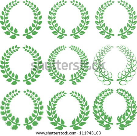 laurel wreath - symbol of victory