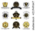 Law office logo collection.full vector logo and easy to edit able.