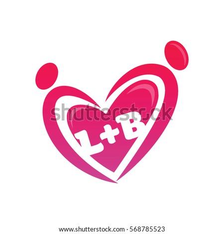 Stock Vector Lb Logo Initial Monogram Ft