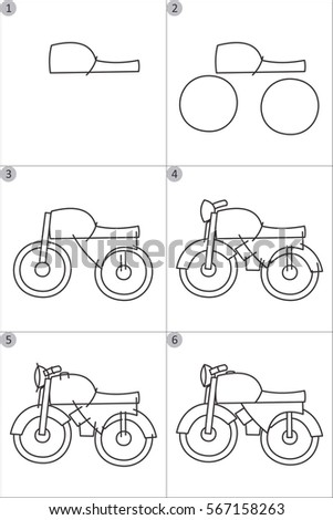 how to draw cars step by step children