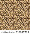 leopard seamless pattern design ...