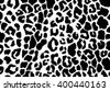 Leopard skins, animal abstract pattern, line art background, print fabric. Amazing hand drawn vector illustration. Poster, banner, web mobile interface template. Black and white - stock vector